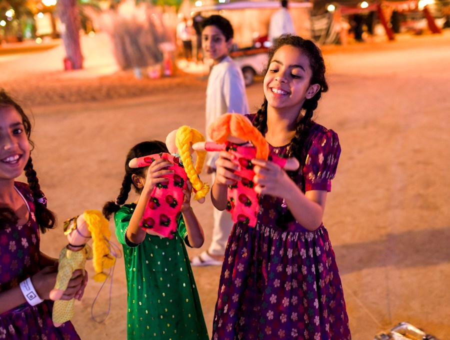 الاحتفال بالعيد ثقافة أبوظبي