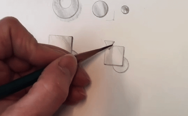 Jewellery design drawing (part 2)