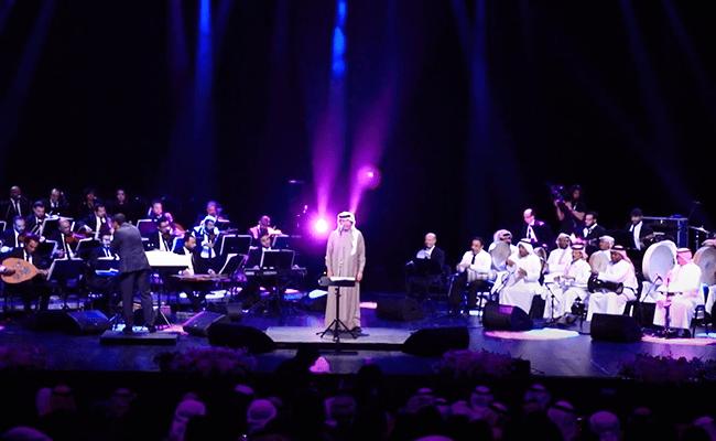 محمد عبدو في حفل موسيقي