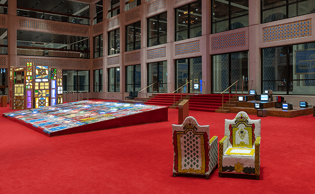 The Red Palace exhibition virtual tour