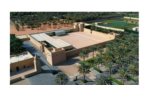 Guided tour in Qasr Al Muwaiji