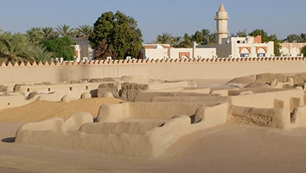 مواقع التراث الطيني في العين: حفظ تراث أبوظبي الفريد.