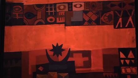 جوجنهايم أبوظبي: إضاءات فنية – رموز قديمه