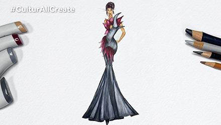 تصميم الأزياء